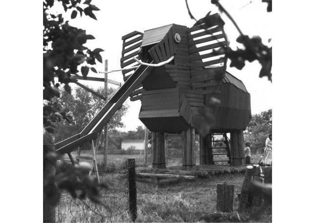 "Russell Yuristy, ""Elephant,"" 1972"