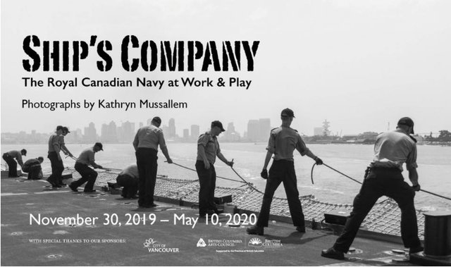 "Kathryn Mussallem, ""Ship's Company: The Canadian Navy at Work & Play,"" 2020"