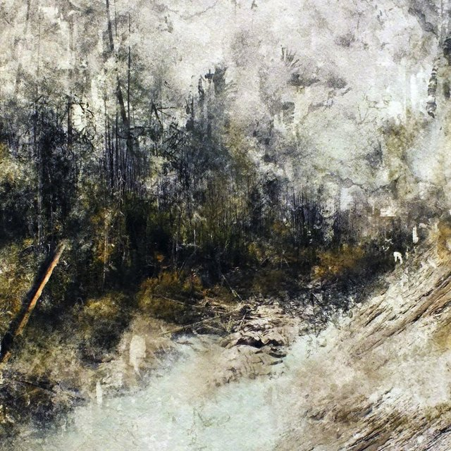 "Kate Mountford, ""Follow the River (detail),"""