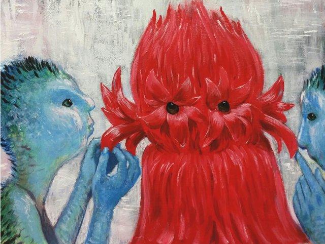 """Gary McMillan, """"Floralismic,"""" 2018"""