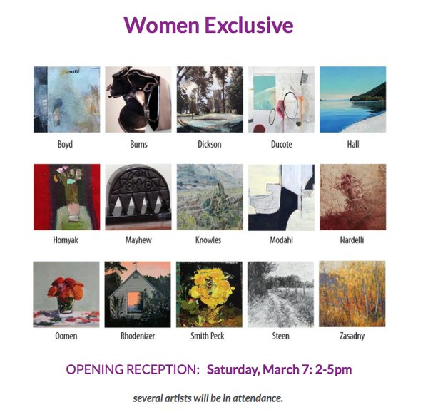 "Wallace Galleries, ""Women Exclusive,"" 2020"