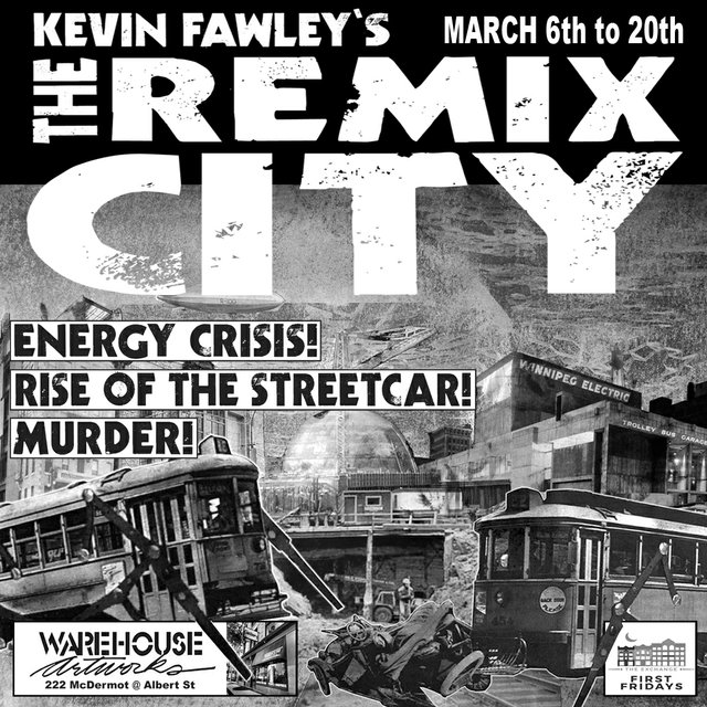 "Kevin Fawley, ""The Remix City,"" 2020"