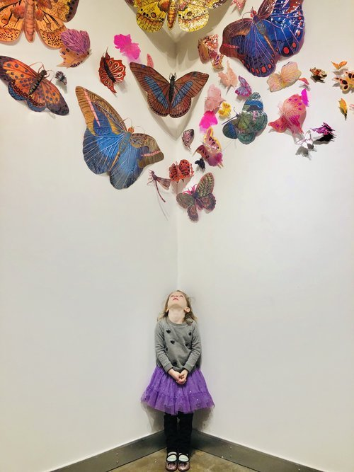 "Leisa Rich, ""Butterflies,"" 2019"
