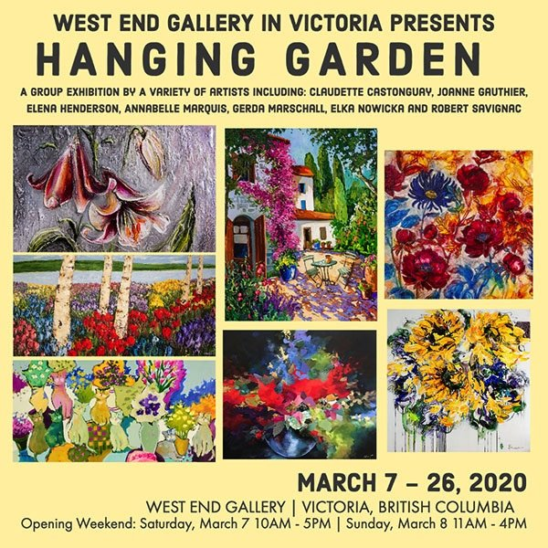 "West End Gallery, ""Hanging Garden,"" 2020"