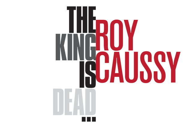 "Roy Caussy, ""The King is Dead,"" 2020"