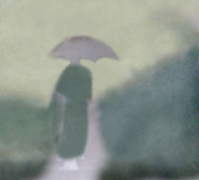 "Gary Woods, ""Japan Series,  Road at Dai Sen,"" 1988"