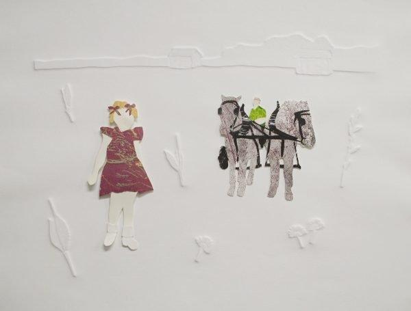 "Pat Grayston, ""Paper Dolls,"" 2020"
