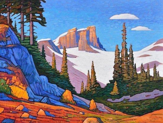 "Nicholas Bott, ""Mitre Mountain,"" 2019"