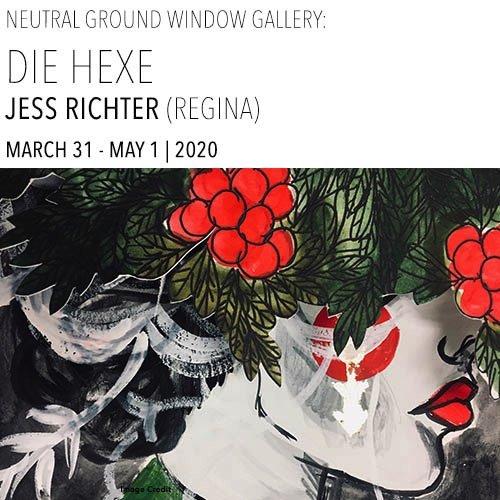 """Jess Richter, """"Die Hexe,"""" 2020"""
