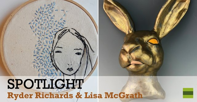 "Ryder Richards & Lisa McGrath, ""Spotlight,"" 2020"
