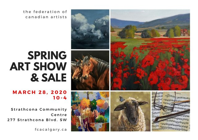 FCA Spring Art Show and Sale, 2020