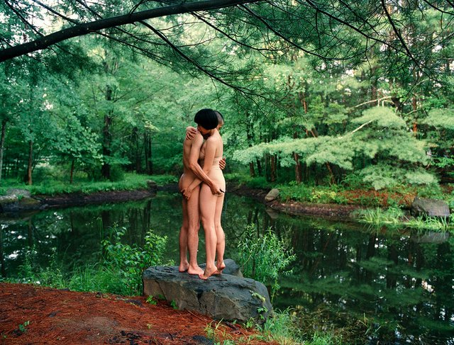 "Pixy Liao, ""the hug by the pond,"" 2010"