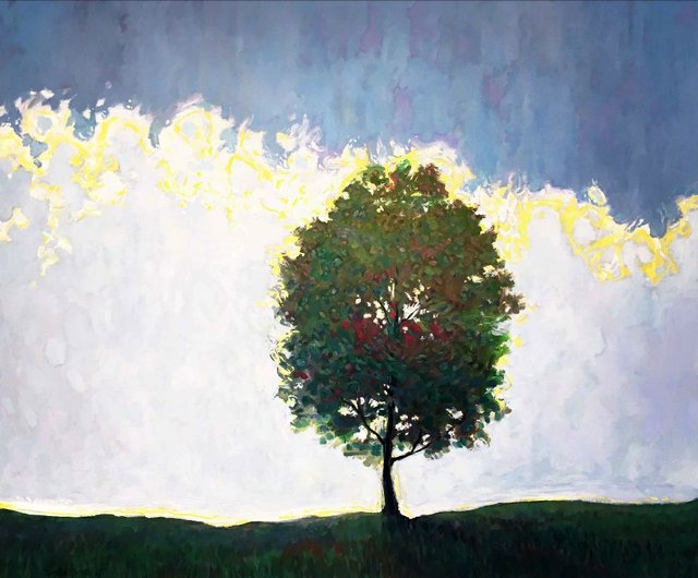 "Steve Coffey, ""The Tree,"" 2020"