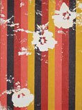 """""""Static Image Painting/4th Variation/Red/Three Flowers"""""""