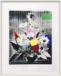 "Emily Filler, ""Vintage Bouquet (In Rainbows),"" 2020"