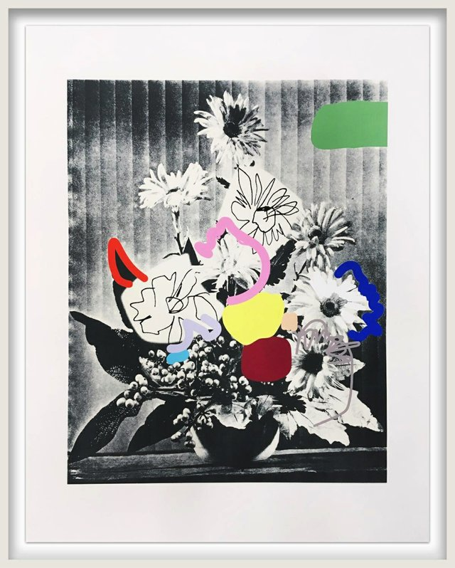 "Emily Filler, ""Vintage Bouquet (In Rainbows),"" 2020"