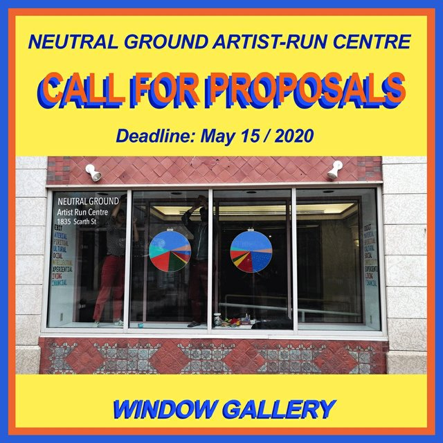 "Neutral Ground, ""Call for Window Proposals,"" 2020"