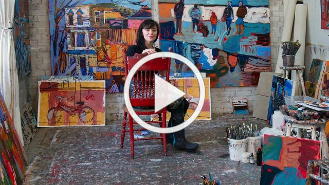 "Art Stories, ""Amy Dryer,"" 2020"