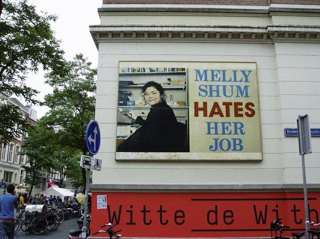 "Ken Lum, ""Melly Shum Hates Her Job,"" 1990 to present"