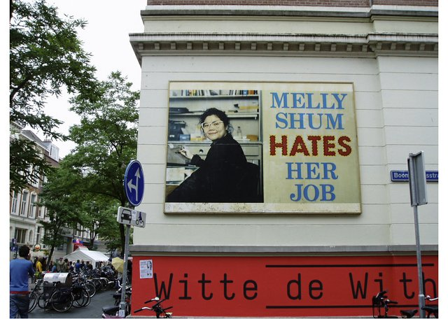 "Ken Lum, ""Melly Shum Hates Her Job,"" 1990 to present"