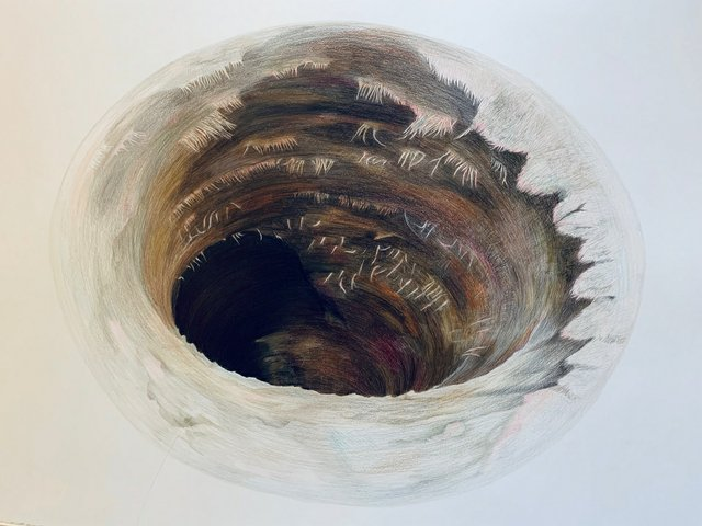 "Jillian McDonald, ""Hole: Deep State,"" 2020"