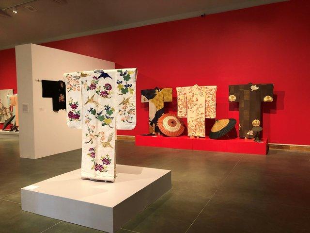 The Kimono of Ichimaru installation