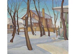 "LionelLeMoineFitzGerald, ""Doc Snyder's House,"" 1931"