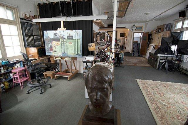 Tony Luciani's home/studio