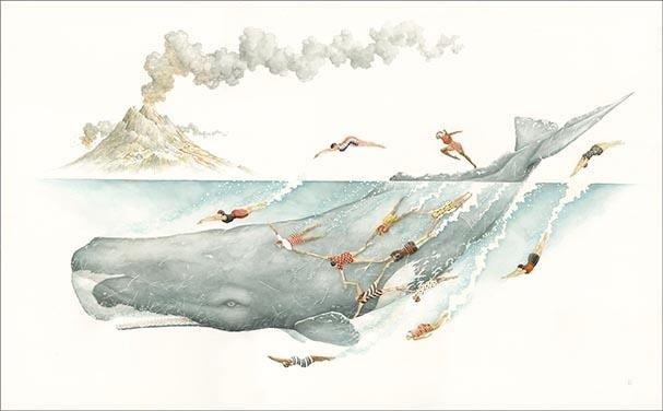 """Paul Morstad, """"Azores Aquatic Club"""", 2020"""