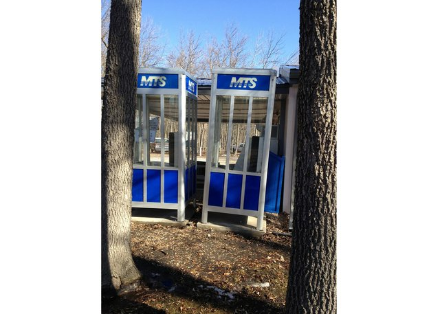 """Jeanne Randolph, from """"Prairie Modernist Noir: The Disappearance of the Manitoba Telephone Booth,: 2018 / 2020"""