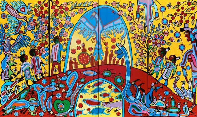Virtual Powwow (courtesy of Winnipeg Art Gallery)
