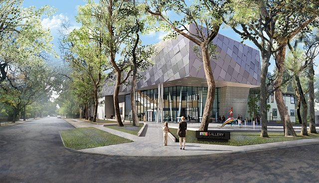 Architectural rendering of the proposed expansion at the Art Gallery of Greater Victoria. (courtesy Art Gallery of Greater Victoria)