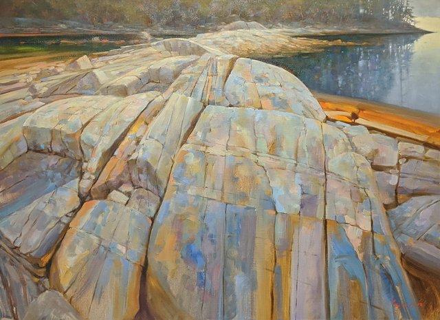 "Brent Lynch, ""Escarpment Brickyard, Nanoose Bay,"" no date"