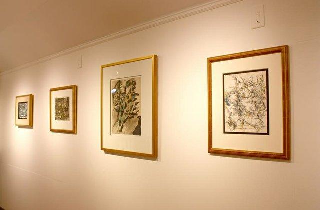 Installation shot, Collector's Choice: Jean-Paul Riopelle & Jean McEwen exhibition