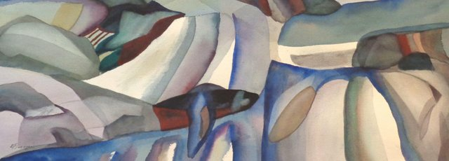"""Ed Flanagan, """"Landscape 8,"""" (detail)"""