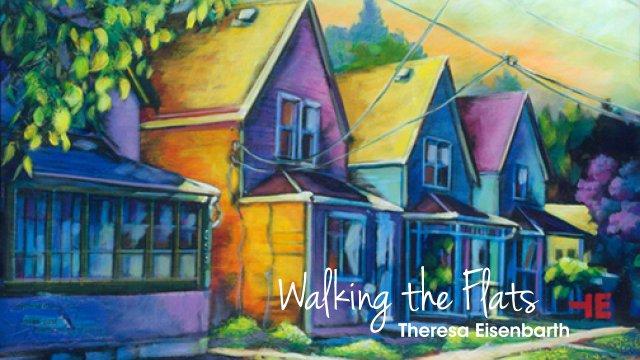"Theresa Eisenbarth, ""Walking the Flats,"" 2020"