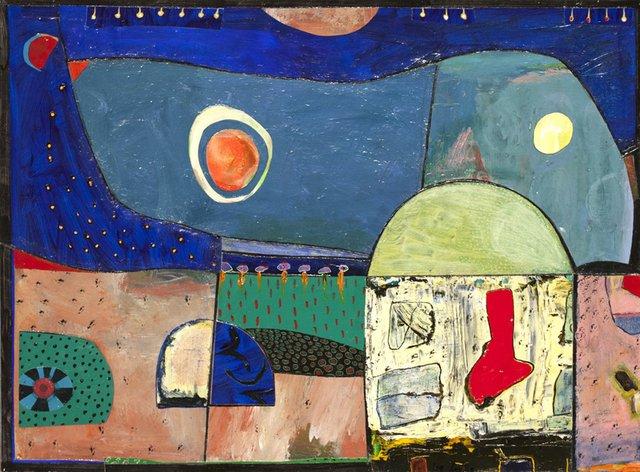 "Leslie Potter, ""Future Landscape: Arizona Night,"" 2019"
