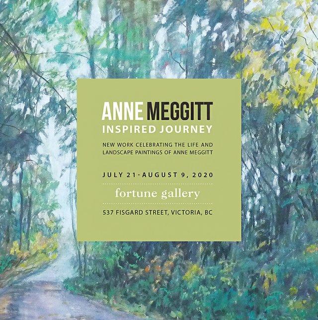 """Anne Meggitt, """"Salt Spring Wandering"""", detail, 2020"""