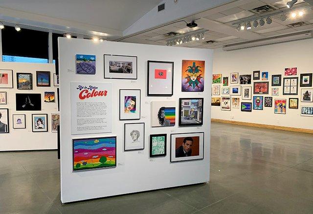 "Kelowna Art Gallery, ""Art in Action 2020: Colour,"" 2020"