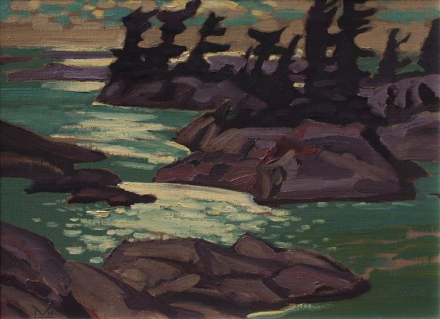 "Illingworth Kerr, ""Georgian Bay Nocturne,"" 1978"