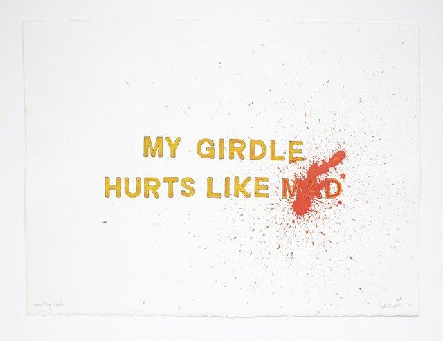 "John Will, ""Hurting Girdle,"" 2015"