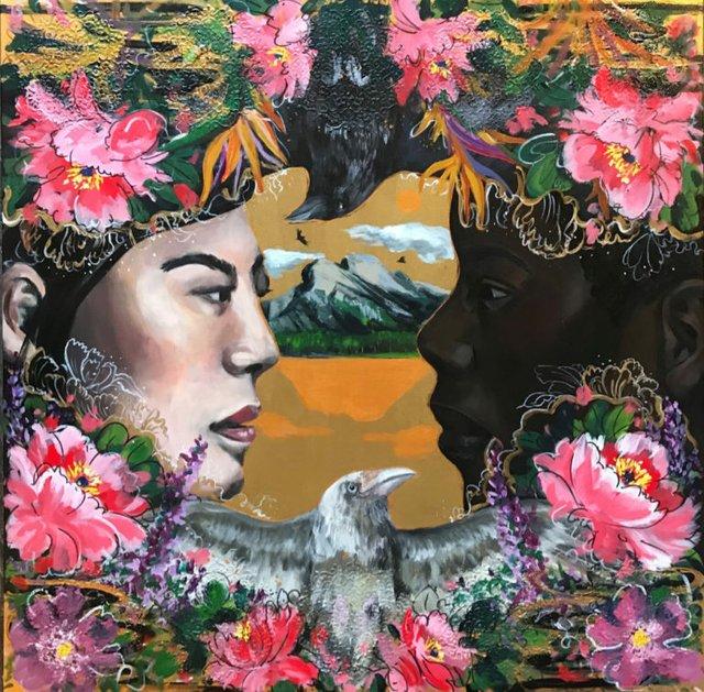 """Kritsana Naowahkun, """"Harmony and Love,"""" 2020"""