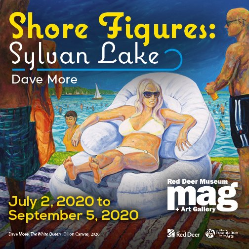 "David More, ""Shore Figures: Sylvan Lake,"" 2020"