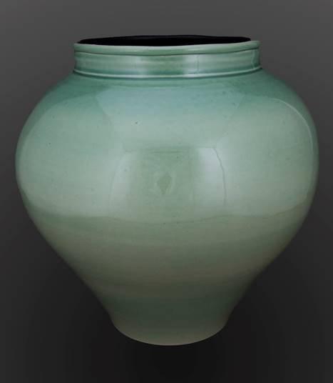 """Derek Kasper, """"Celadon Green Jar,"""" 2020"""