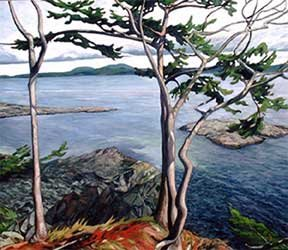 """May Afternoon Saltspring"""