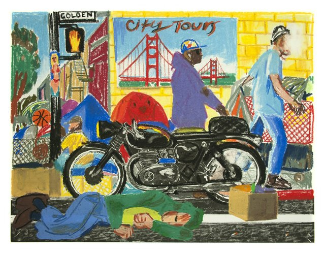"Erik Olson, ""San Francisco,"" 2020"