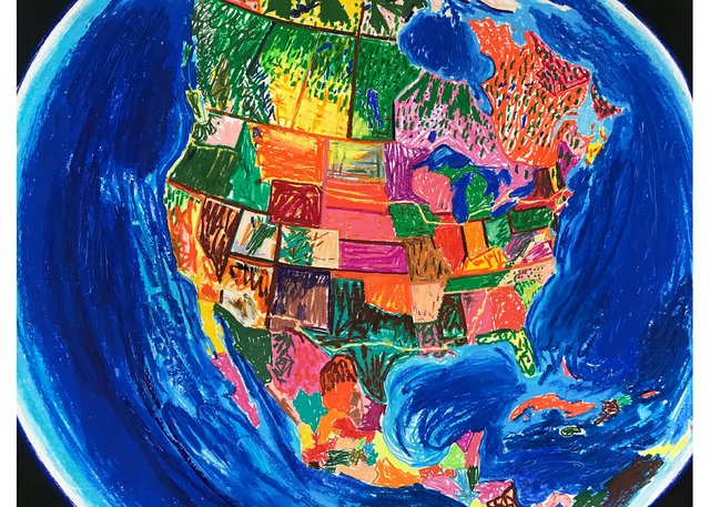 "Erik Olson, ""North America,"" 2020"