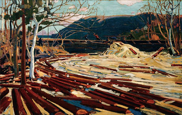 "Tom Thomson, ""The Drive,"" 1916-17"