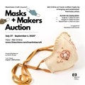 """Manitoba Craft Council, """"Masks and Makers Auction,"""" 2020"""