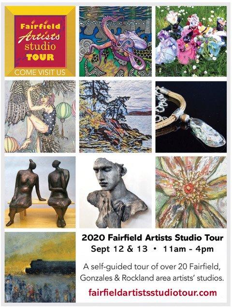 Fairfield Artists Studio Tour 2020